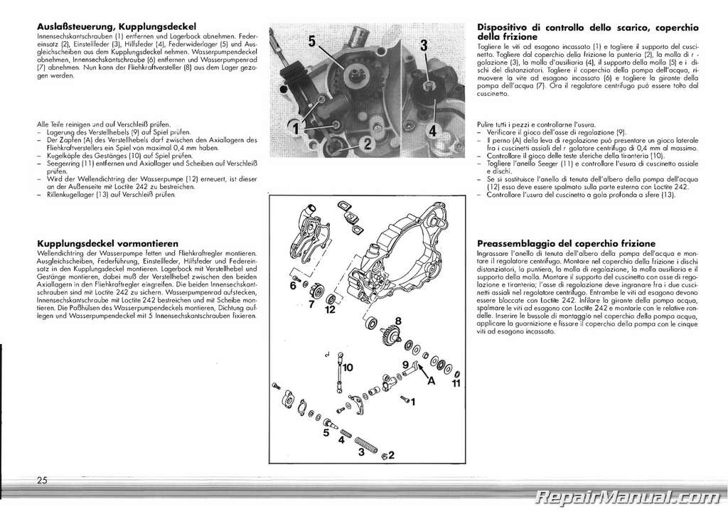 19911995 KTM 250 300 Two Stroke Engine Service Repair Manual: 2013 KTM Exc Wiring Diagram At Gundyle.co