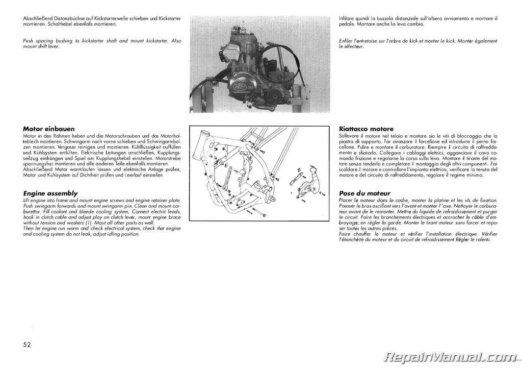Ktm Sxf  Repair Manual