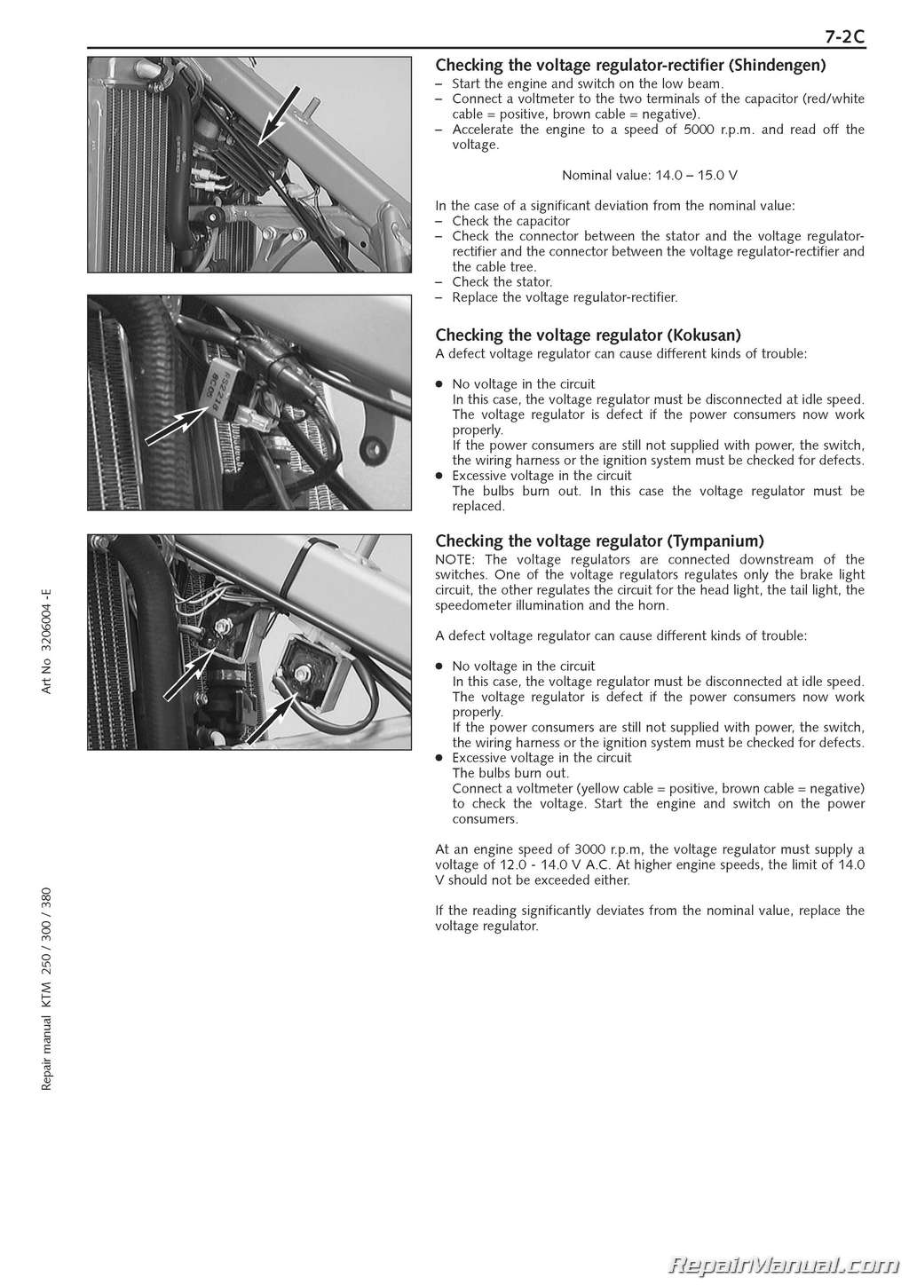 Official 1999 2003 Ktm 250 380 Sx Mxc Exc Engine Repair Manual 3206004 E on honda wiring diagram