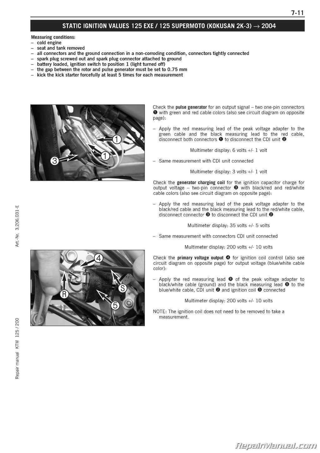 1995 Ktm Stator Wiring Diagram Opinions About Cdi Get Free Image Images Gallery