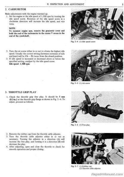 Honda MR50 Service Manual & Parts Manual 1974 - 1975