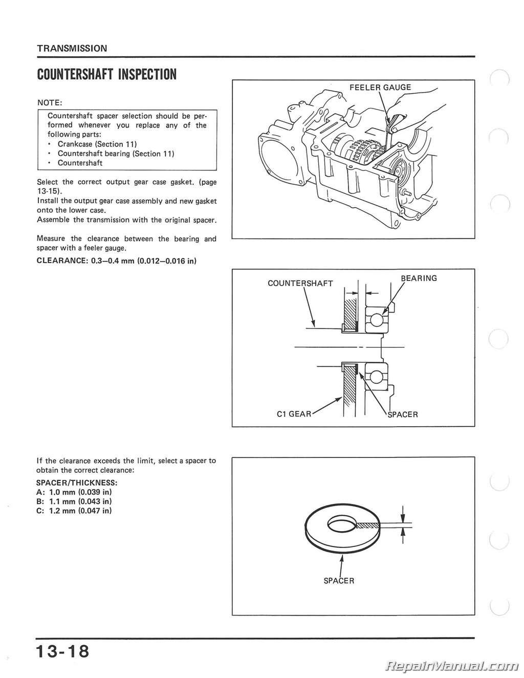 1982 1985 Honda Vf700c Magna Vf750s V45 Sabre Motorcycle Service Riding Mower Wiring Diagram 1984 Manual
