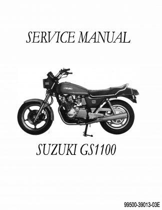 Suzuki GS 1100 Repair Manual 1979-1983