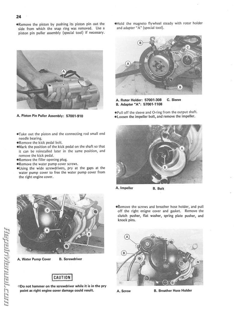 1985 kawasaki kx60 motorcycle owners service manual rh repairmanual com kawasaki kx 60 service manual download 2000 kawasaki kx60 manual pdf