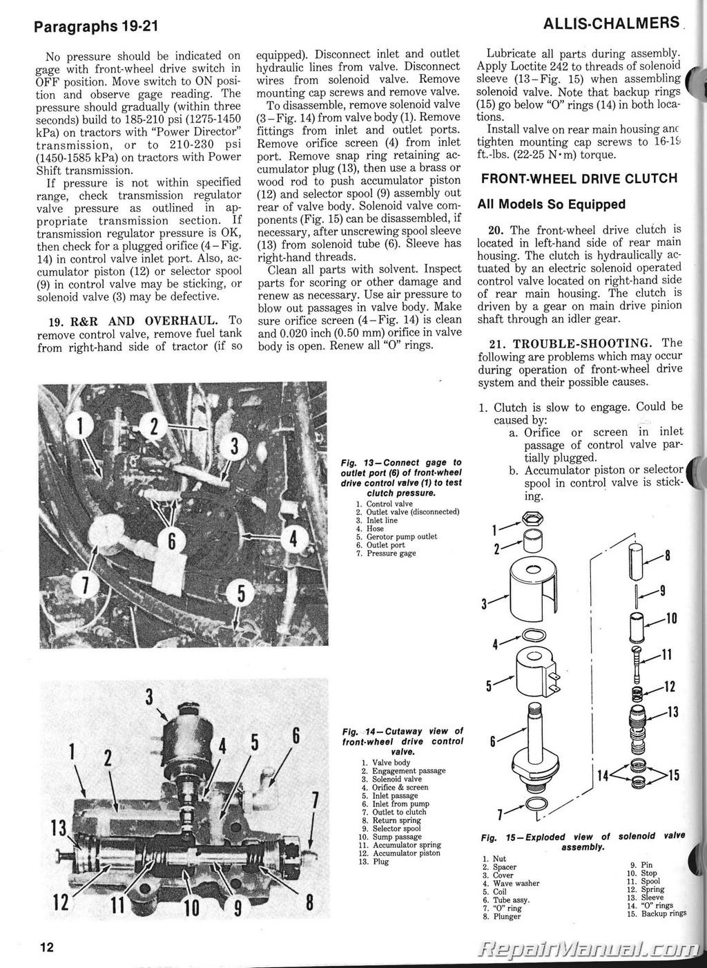 allis chalmers wd wiring schematic diagram ford 9n wiring