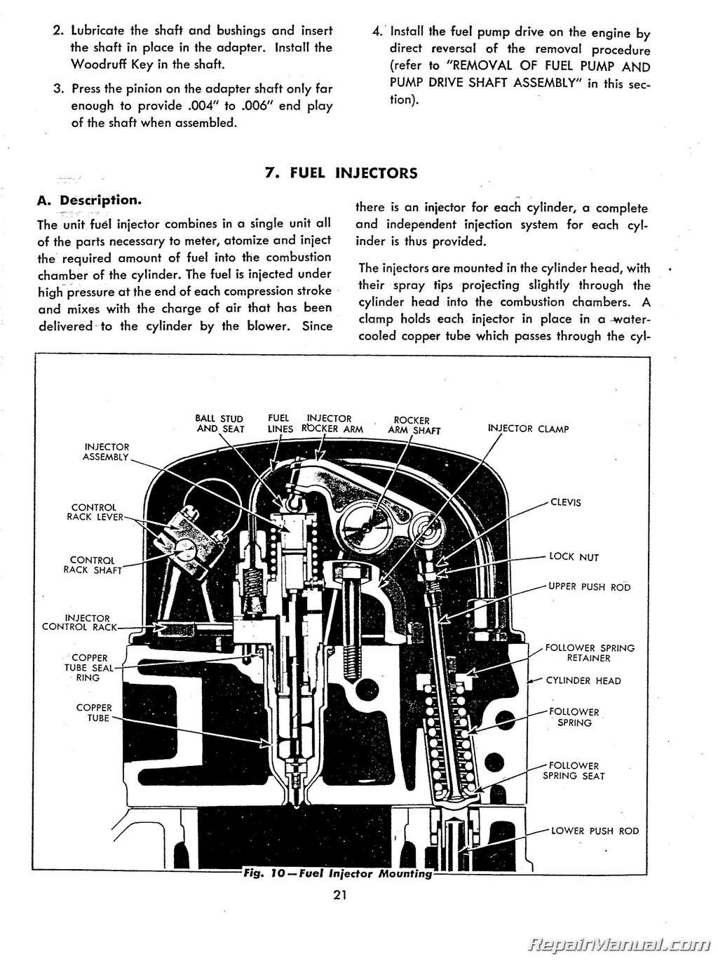 Allis Chalmers Hd5 Tractor Service Manual