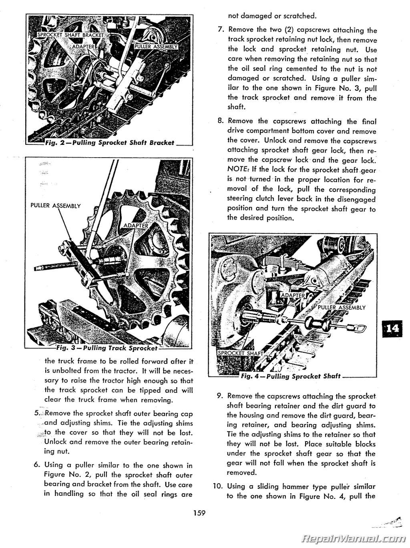 Service manual allis 314h