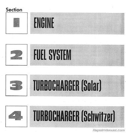 International Harvester Farmall 806 856 1206 1256 1456 Service Manual
