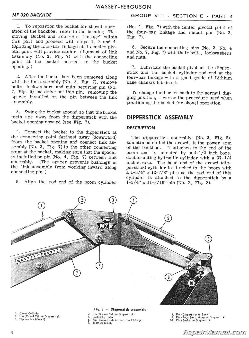 Massey Ferguson 302 Wiring Diagram Diagrams Tractor Alternator Mf 304 320 Backhoe