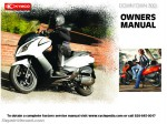 KYMCO Downtown 300i Owners Manual
