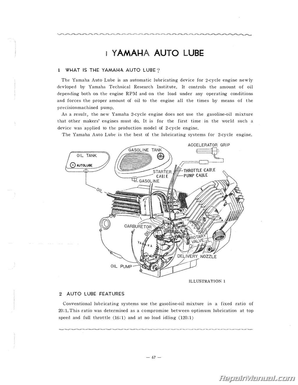 Yamaha G1 Manual 1964 1966 Motorcycle Service Repair Xt125x Wiring Diagram