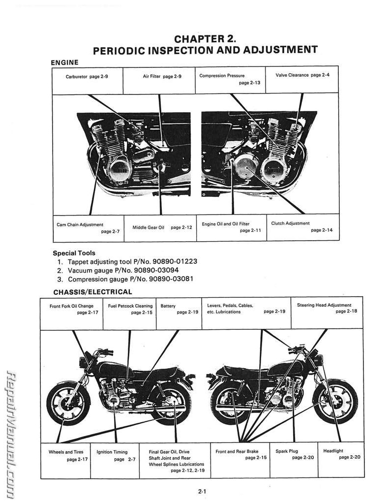 1978 1981 yamaha xs1100 four cylinder motorcycle service manual rh repairmanual com 2003 Honda Shadow Wiring-Diagram DR650 Wiring-Diagram