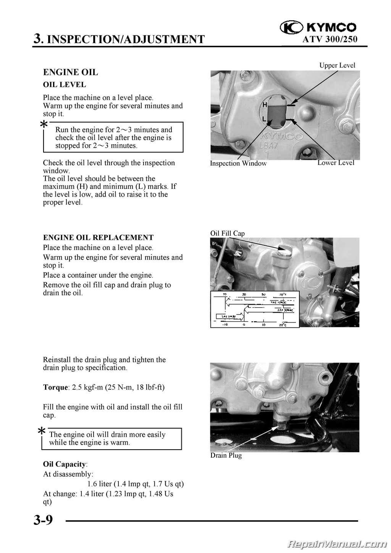 Kymco Mongoose 250 300 Maxxer Atv Printed Service Manual