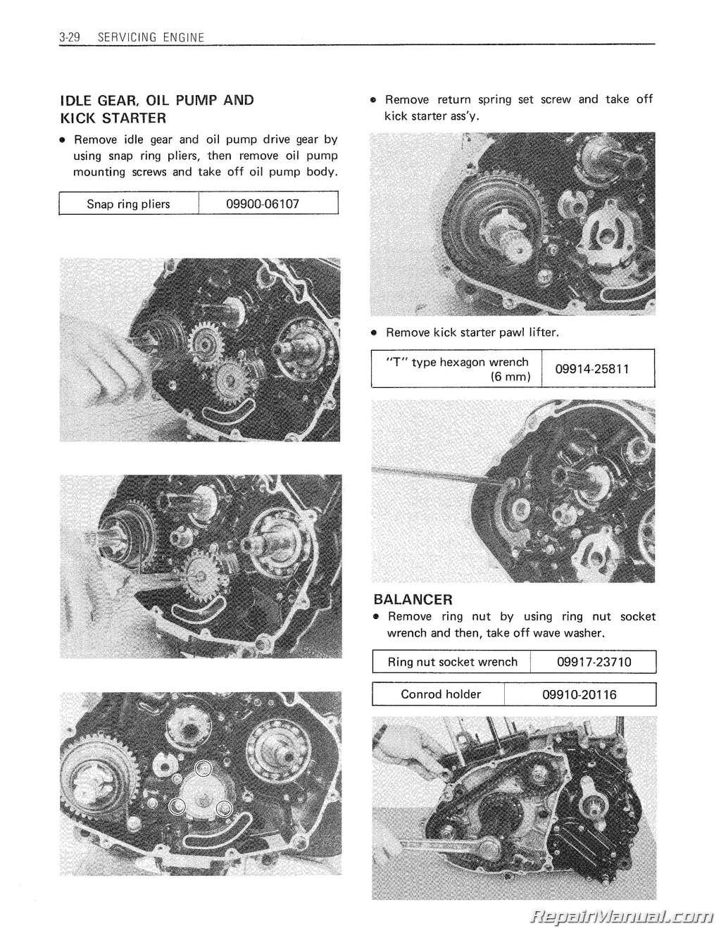 Suzuki Dr Service Manual W10158196a Whirlpool Wiring Schematics 1981 1983 Dr500 Sp500 Motorcycle Printed Rh Repairmanual Com 125 Pdf 200 Free