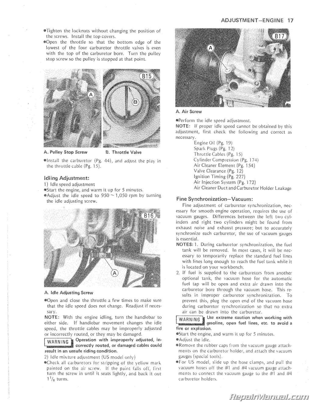 1979 1980 kawasaki kz1000e motorcycle service repair manual. Black Bedroom Furniture Sets. Home Design Ideas