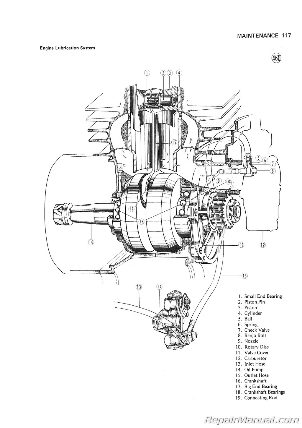 2 stroke snowmobile engine diagram