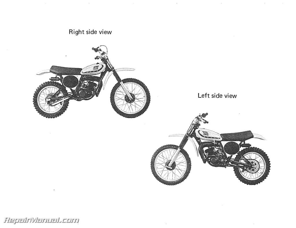 parts for 1975 yamaha 100 enduro