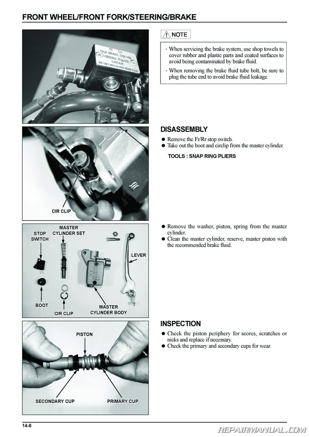 Daelim S2 250 Scooter Service Manual