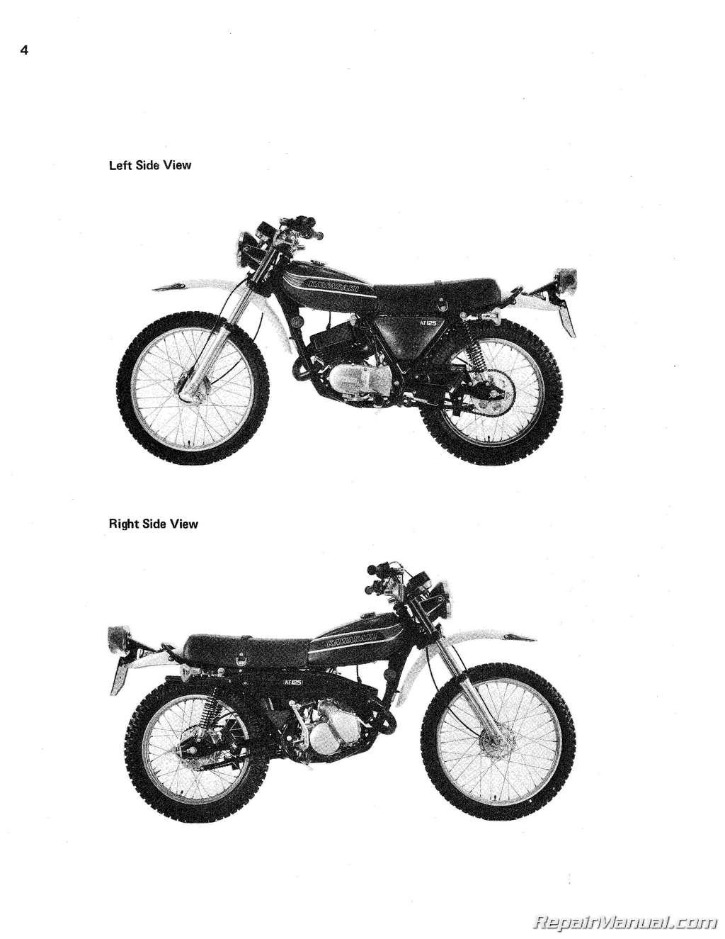 1974 Kawasaki F7 Wiring Diagrams Trusted Diagram Ks125 Schematic Motorcycle Parts