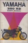1969 Yamaha R3 350 Factory Riders Manual