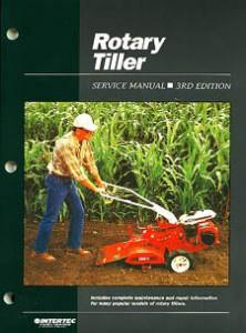 Rotary Tiller Service Repair Maintenance Manual by Clymer Manuals