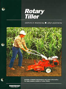 Rotary Tiller Service Repair Maintenance Manual by Clymer Manuals
