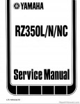 RZ350 Manual