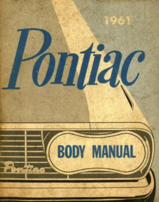 Pontiac Body Manual 1961 Used