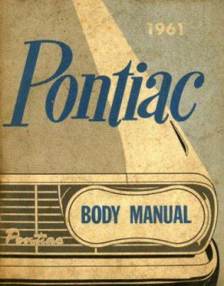 Pontiac Body Manual 1961 Used