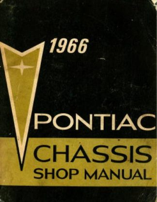 Pontiac Chassis Shop Manual 1966