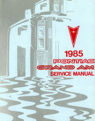 Pontiac Grand Am Service Information 1985 Used