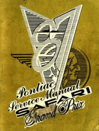 Pontiac Safari and Grand Prix Service Manual 1987