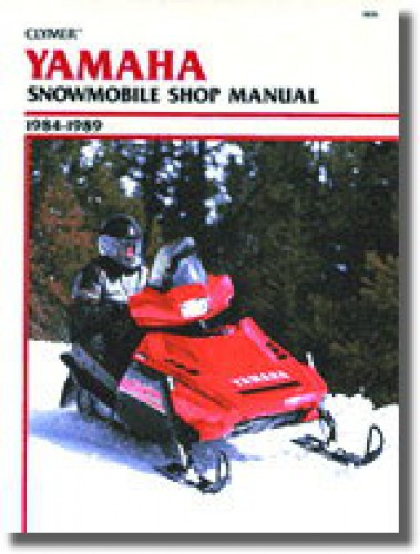 1984-1989 Yamaha Snowmobile Clymer Repair Service Workshop Manual