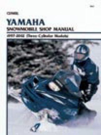 Clymer Yamaha Snowmobile 1997-2002 Shop Manual 3 Cylinder Models