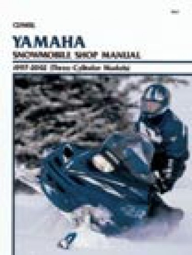 Clymer Yamaha Snowmobile 1997-2002 Shop Manual 3 Cylinder Models