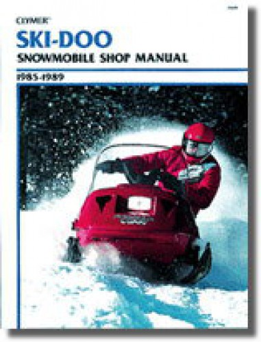 ski doo snowmobile 1985 1989 clymer shop manual rh repairmanual com ski doo snowmobile manuals pdf ski doo snowmobile manuals pdf