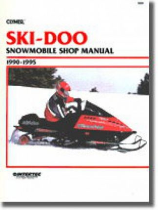 Clymer Ski-Doo Snowmobile 1990-1995 Shop Manual