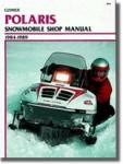 Clymer Polaris Snowmobile 1984-1989 Shop Manual