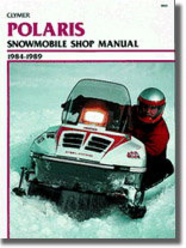 Clymer Polaris Snowmobile 1984-1989 Shop Manual