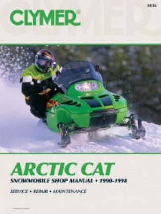 Clymer Arctic Cat Snowmobile 1990-1998 Shop Manual