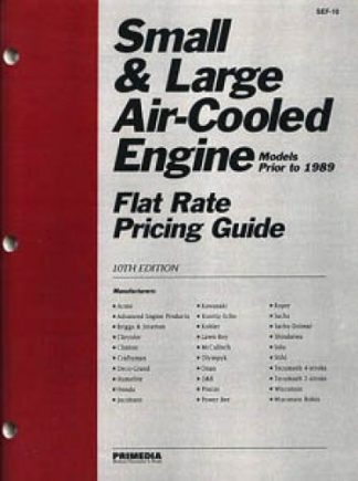 Clymer Small Engine Air-Cooled Engine Through 1988 Flat Rate Pricing