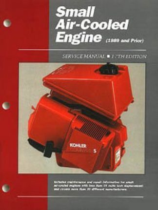 Clymer ProSeries - Small Air-Cooled Engine Service Manual Volume 1
