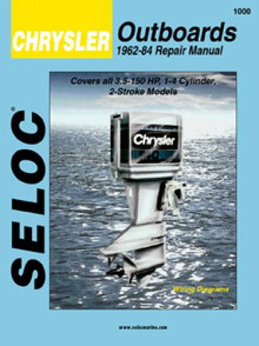 Seloc 1962-1984 Chrysler Outboard Boat Engine Repair Manual
