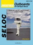 Seloc 1973-1989 Johnson Evinrude 1-2 Cylinder, 2 Stroke Outboard Boat Engine Repair Manual
