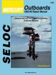 Seloc Mercury Outboards 1-2 Cyl 1965-1989 Repair Manual