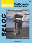 Seloc Mercury Outboards 3-4 Cyl 1965-1989 Repair Manual