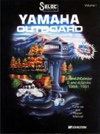 Yamaha Outboard 1-2 Cylinder Engine Repair Manual 1984-1991 Seloc