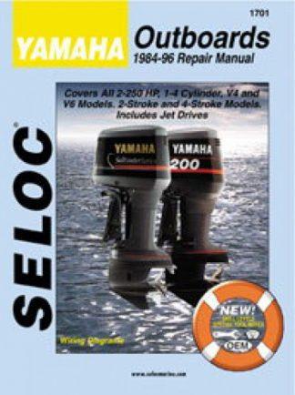 Seloc Yamaha Outboard 2-250HP 1984-1996 Repair Manual