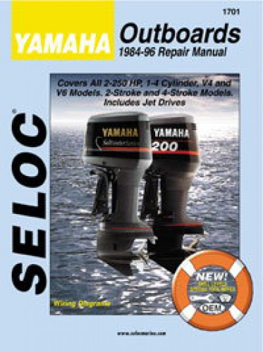 seloc yamaha outboard boat engine 2 250hp 1984 1996 repair manual rh repairmanual com Car Repair Manuals Yamaha Generators
