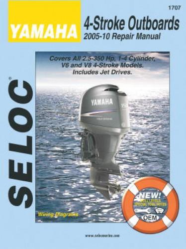 2005 2010 Seloc Yamaha 4 Stroke 2 5 350 HP Outboard Boat